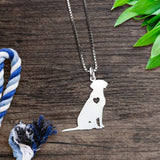 Labrador Heart Necklace