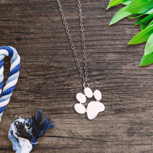 Silver Paw Necklace - VIP