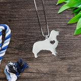 Retriever Heart Necklace