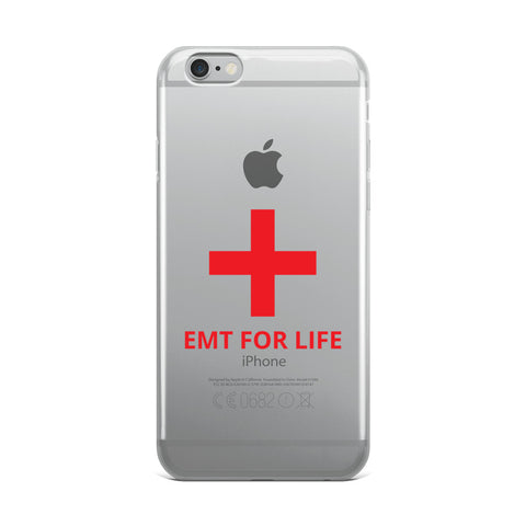 EMT FOR LIFE iPhone Case