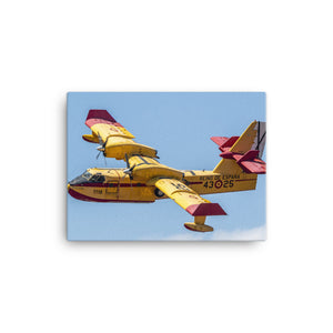 CANADAIR CL-415 Water Bomber Canvas