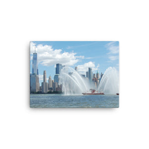 FDNY FIREFIGTER II Fireboat Canvas