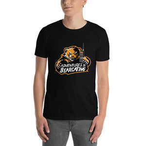 ADVENTURES IN BEARCATING Short-Sleeve Unisex Radio T-Shirt