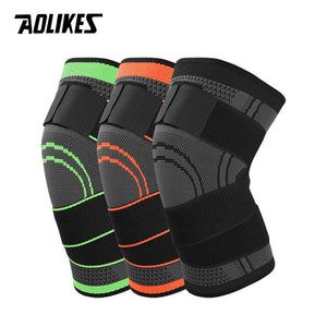 AOLIKES SPORTS/FITNESS KNEE SUPPORT Bandage Type, Elastic Nylon Compression Brace
