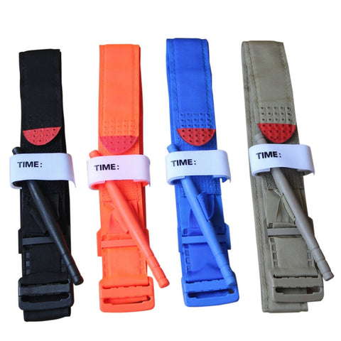 PORTABLE TACTICAL EMERGENCY TOURNIQUET STRAP- Perfect for hunting, camping, go bags, etc