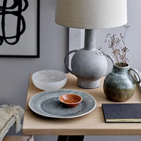 Ceramic plates and decor
