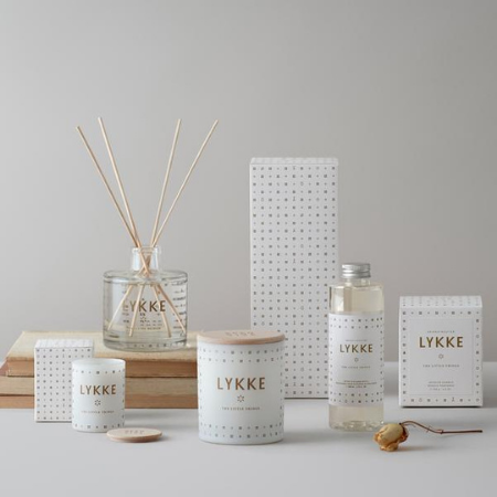Lykke candles and diffusers