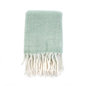 Fireside Cosy Throw, Mint
