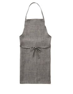 Chocolate herringbone daily apron