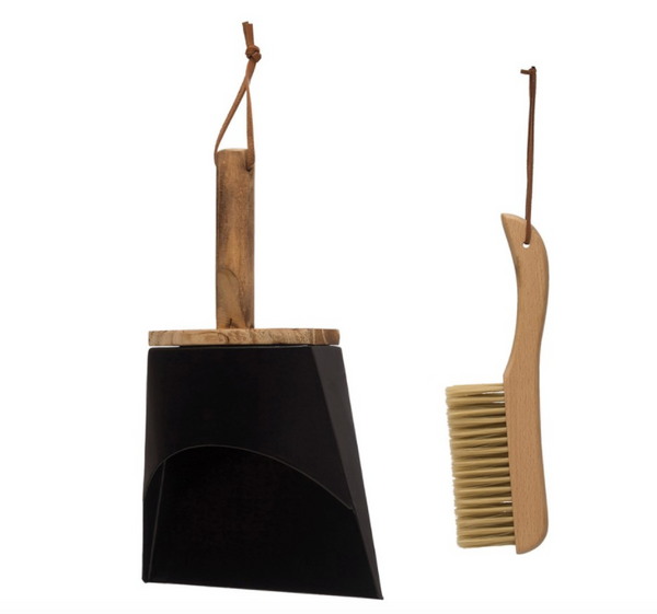Brush & Pan Set