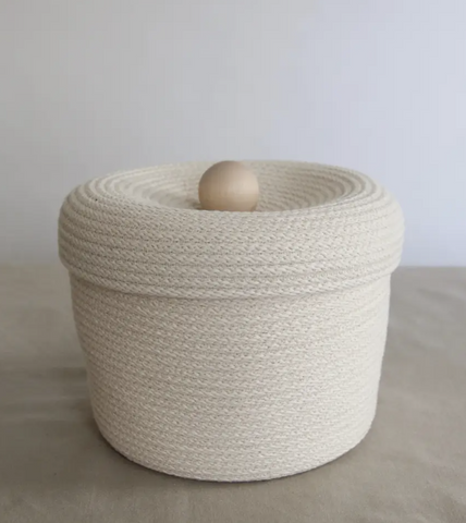 Large Knob Storage Basket