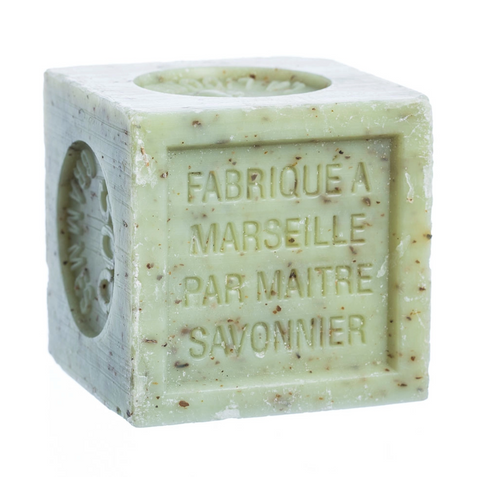 Verbena Savon De Marseille with Crushed Flowers Soap
