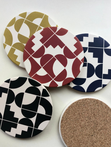 Shapes Stone Coasters