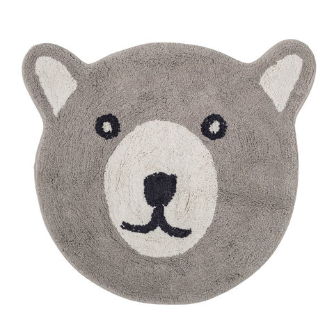 Cotton Bear Rug in taupe