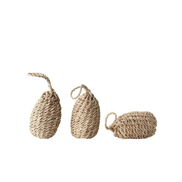 Woven Abaca Rope Buoy with Handle