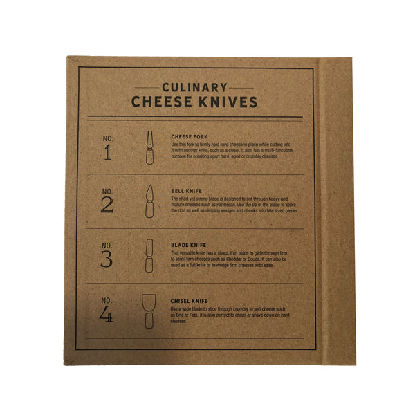 Cheese Knives Cardboard Book