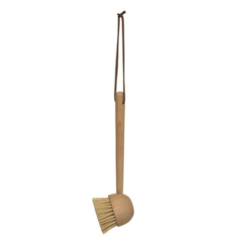 Long Handle Natural Beechwood Brush