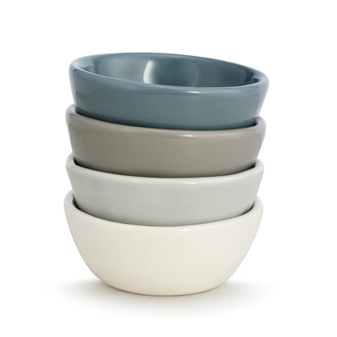 Mini Bowls - Set of 4 Assorted
