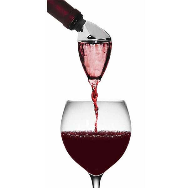 Wine aerator and pourer