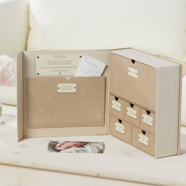 """Baby's Firsts"" Keepsake Box"