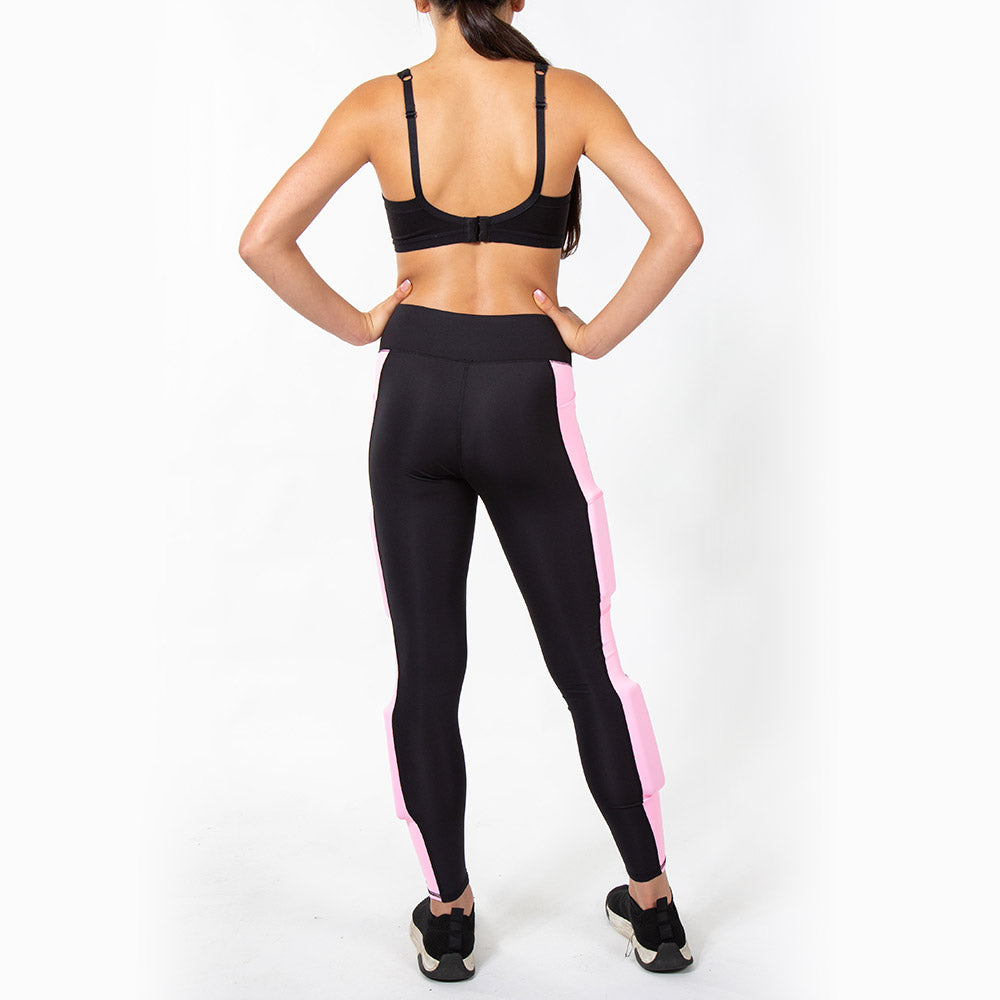 Girl's Rapid Response ColorBlock Weighted Performance Legging