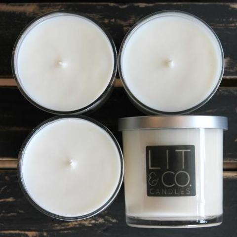Library All Natural Soy Candle