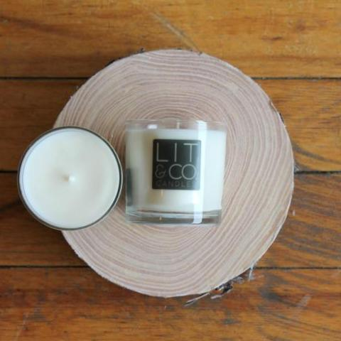 Caramel + Bourbon All Natural Soy Candle