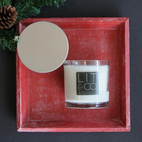 Balsam+Cinnamon All Natural Soy Candle