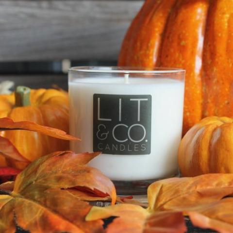 Sweet Potato Pie All Natural Soy Candle