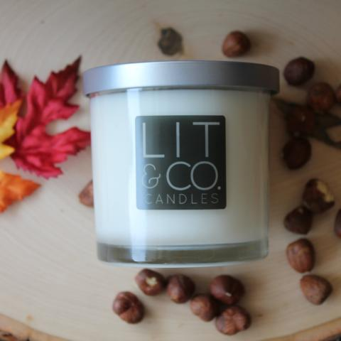 Hazelnut All Natural Soy Candle