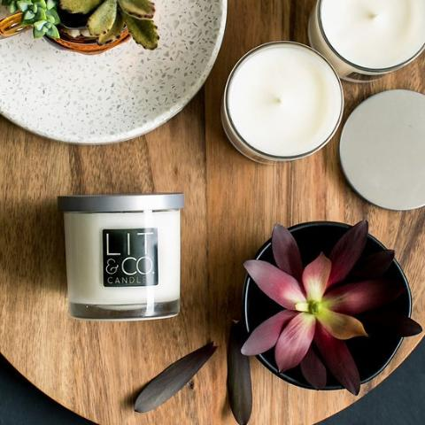 SOY CANDLES AND HOME FRAGRANCE – Lit&Co  Candles