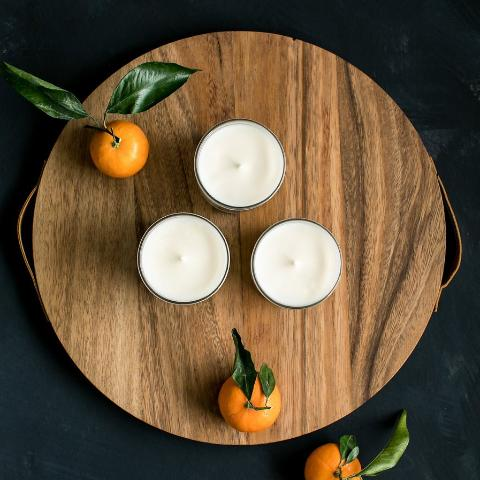 Orange+Clove All Natural Soy Candle