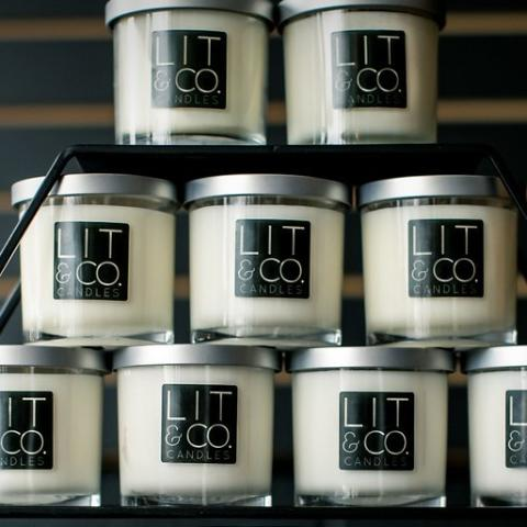 Leather All Natural Soy Candle