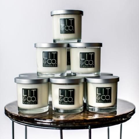 Pacific Teakwood All Natural Soy Candle
