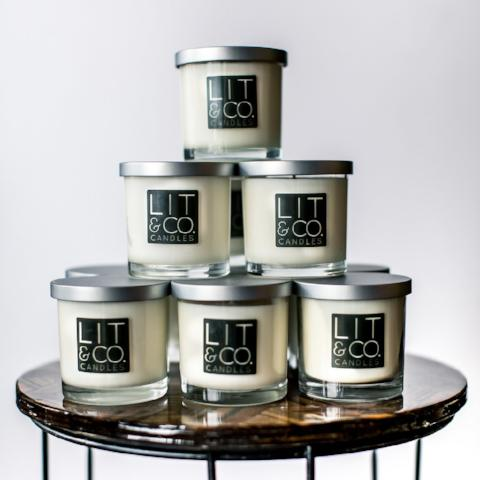 Chardonnay All Natural Soy Candle