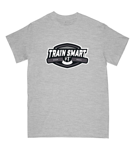 Train Smart T-Shirt in Sports Grey - Kid's