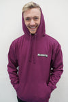 Wilsonator Hoodie in Purple - Kid's