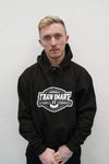 Train Smart Hoodie in Black