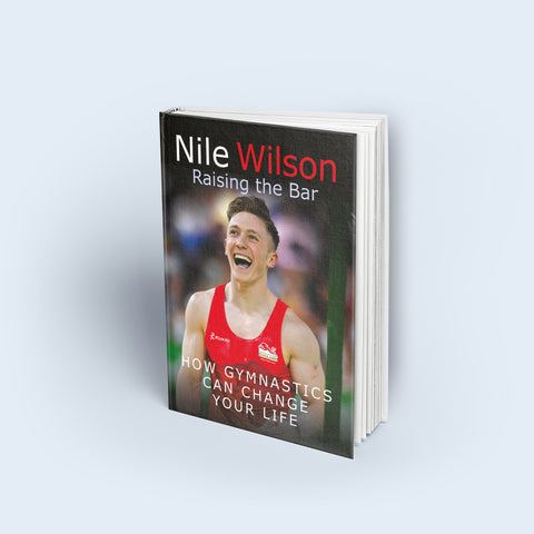 Raising The Bar by Nile Wilson Signed Book
