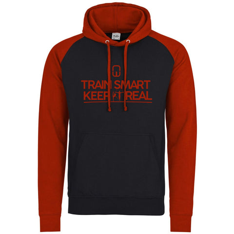Raglan Sleeve Train Smart Hoodie - Adult