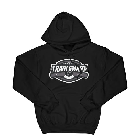 Train Smart Hoodie in Black - Kid's