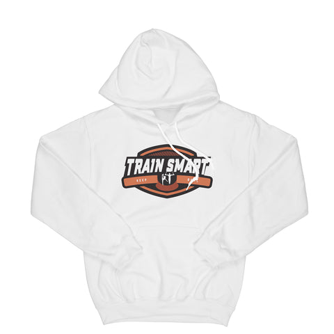 Train Smart Hoodie in White