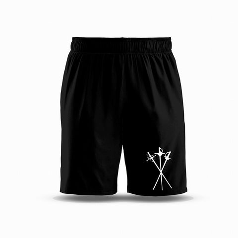 Three Musketeers Sports Boy's Shorts - Black