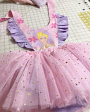 Starry vintage Barbie tulle pinny