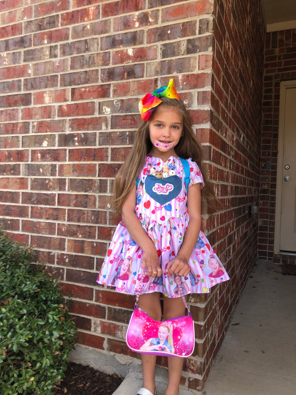 Jojo siwa inspired dress