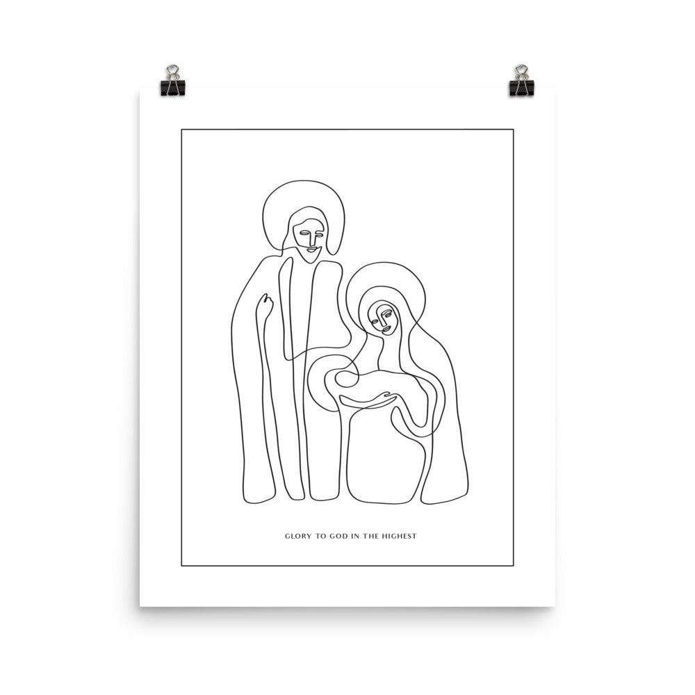 The Nativity Print (bare) | Medium