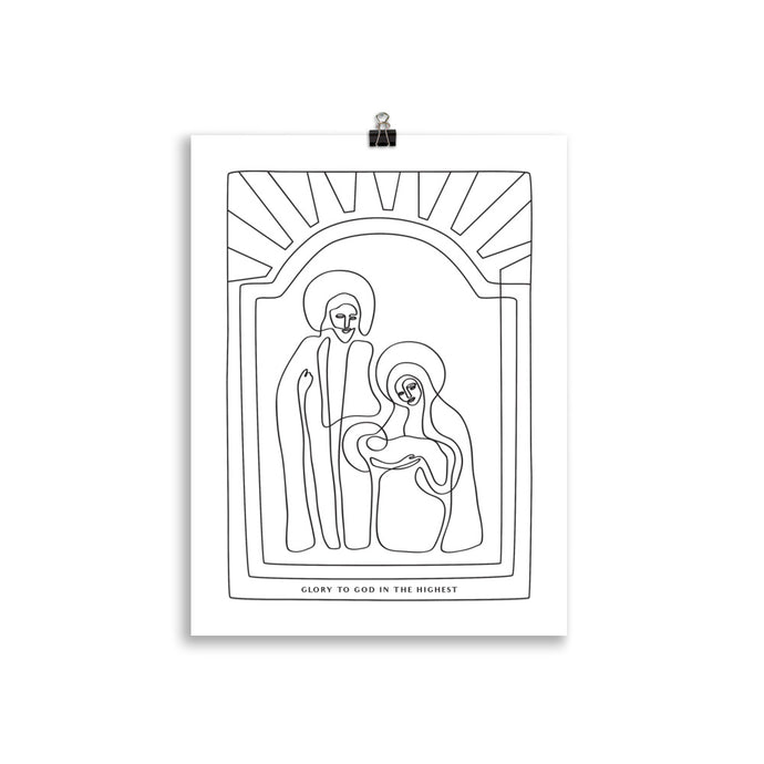 The Nativity Print