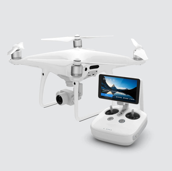 Dji Phantom 4 Pro plus Quadcopter 4k Drone with display (white)