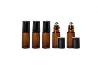 5ml Empty Roll On Bottle (5 pcs)