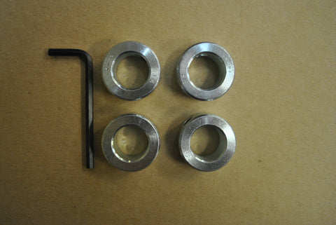 SET COLLARS FOR CART WHEELS / Set of 4 ea